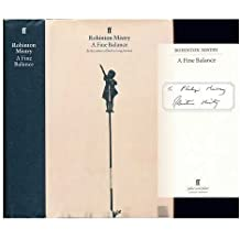 By Rohinton Mistry A Fine Balance