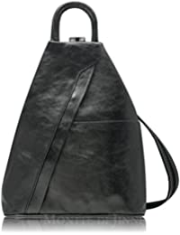 71e4bf745a47 ... Women s Handbags   Fashion Backpacks   Silver. Super Soft Italian  Leather Rucksack   Shoulder Bag Backpack