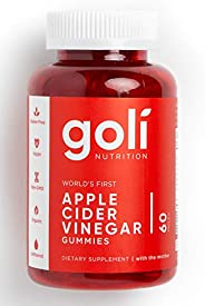 Goli Apple Cider Vinegar Gummies 60pcs