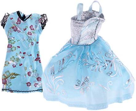 F Fityle VêteHommes t de de de Poupée, 2pcs Cheongsam et Robe en Dentelle pour Monster High Dolls Cadeau d'anniversaire pour   B07KXDT3GD 90b943