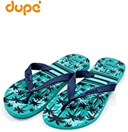 Dupe Green Flip Flop Thong Design Slipper for Mens