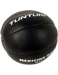 Tunturi-Fitness 14TUSBO104 Tunturi Balón medicinal cuero, 5 kg