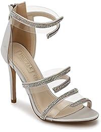 de2becb8d4c Silver Women s Fashion Sandals  Buy Silver Women s Fashion Sandals ...