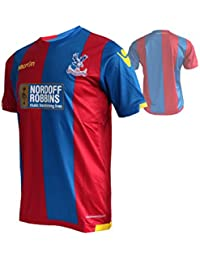 Macron Crystal Palace FC Home Jersey Jugador cpfc Camiseta de fútbol Rojo/Azul