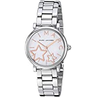 Marc Jacobs Women's White Dial Stainless Steel Band Watch - MJ3591