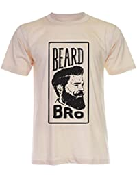 PALLAS Unisex's Beard Bro Great Beard Funny T-Shirt