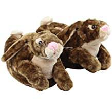 Sleeper z - Lapin - Chaussons animaux peluche - Homme Femme Enfant - Cadeau  original c7c8ed922bf