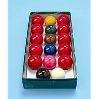 Aramith - Juego de bolas de billar inglés (5 cm)