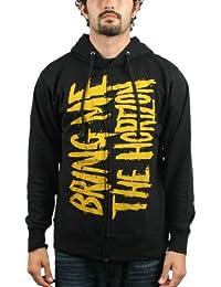 Bring Me The Horizon - Bmth Logo Zip Hoodie Hoodie In Black
