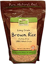 Now Foods Long Grain Brown Rice 2 lbs