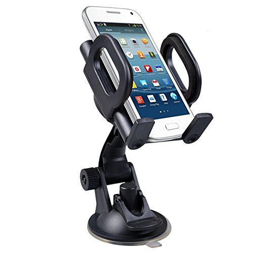 Maclean MC-659 Dashboard Windscreen In Car Suction Mount Holder Cradle for GPS Mobile Phone PDA