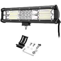 LE 180W Foco de Coche LED Potente, Haz de luz combinado, Resistente al agua IP67, Blanco frío, Faro de trabajo LED off-road, camión, todoterreno, tractor, barco