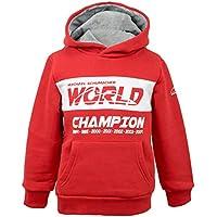 Michael Schumacher Hoody Kids World Champion rot
