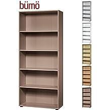 suchergebnis auf f r nussbaum regal b robedarf schreibwaren. Black Bedroom Furniture Sets. Home Design Ideas