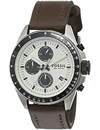 Fossil Chronograph Silver Dial Men's Watch-CH2882