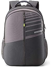 American Tourister Crone 29 Ltrs Grey Casual Backpack (FG8 (0) 08 101)