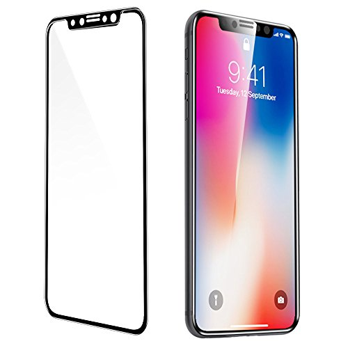 coque iphone x verre trempé 3d