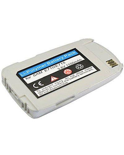 cellePhone Akku Li-Polymer für Samsung SGH-E710 E715 - silber ( ersetzt BST2069SE / BST2069DE )