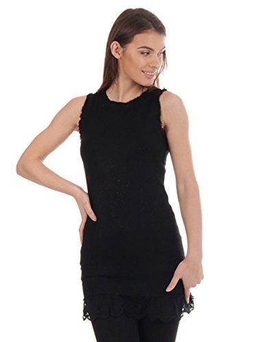 Street Fashion UK Canotta - Basic - Donna Black
