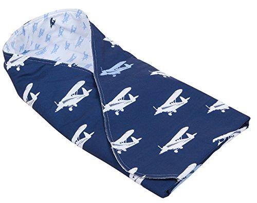 Little Dutch Swaddle Decke (Flugzeug blau)