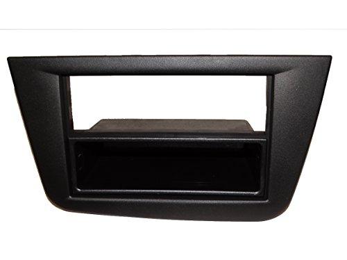 AERZETIX: Façade Cadre réducteur Adaptateur Cache autoradio pour Auto Voiture