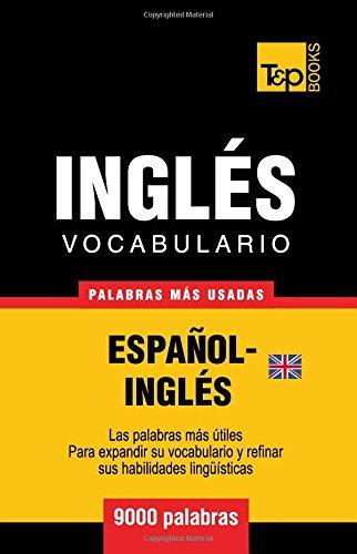 Vocabulario español-inglés británico - 9000 palabras