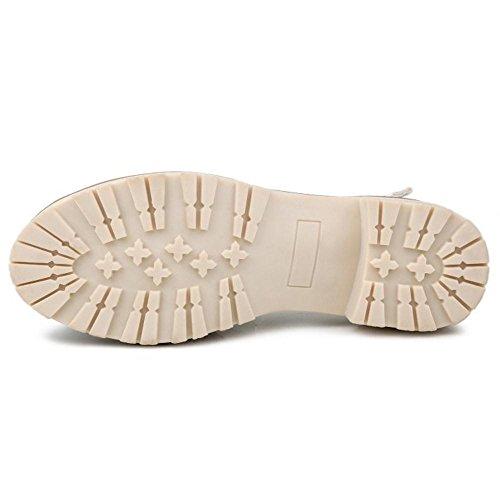 TAOFFEN Damen Gemutlich Floral Print Schuhe Geschlossene Sommer Mid Heel Sandalen mit Schnalle 57 Violett mBZUGUVqA