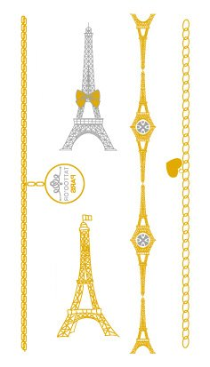 golden-metallic-gold-stickers-de-tatouage-temporaire-non-permanent-pour-lart-corporel-tour-eiffel-vh