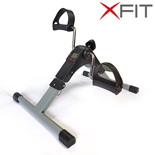 XFit Mini Digital Exercise Folding Bike 2 in 1 Arm for sale  Delivered anywhere in UK