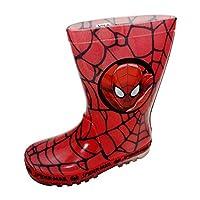 Marvel Spiderman Boys Light up Wellington Boots