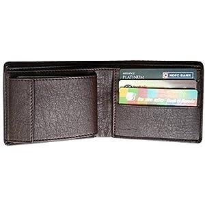 KEZRO Men's Wallet – Dark Brown