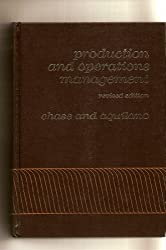 Production and operations management: A life cycle approach (Irwin series in quantitative analysis for business)