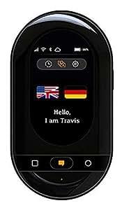 Travis Touch - Traducteur Électronique Intelligent avec 105 langues, écran tactile, 4G LTE, hotspot & charge sans fil