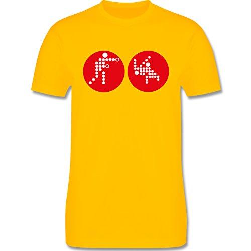 Kampfsport - Kampfsport - Herren Premium T-Shirt Gelb