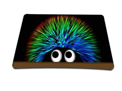 Luxburg® Design XL Gaming alfombrilla de ratón esterilla de ratón, motivo: Erizo multicolor