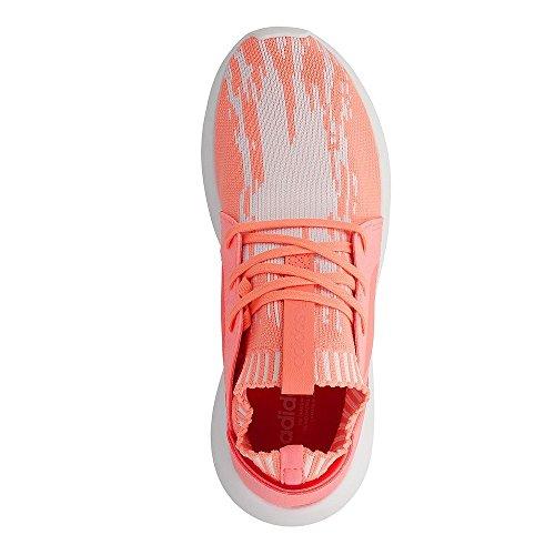 Adidas Tubular Defiant PK W Sneakers - Scarpe Da Ginnastica Donna Bianche e Salmone Orange