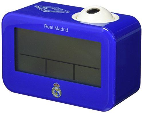 Seva Import Real Madrid Despertador, Unisex Adulto, Azul/Blanco, Talla Única