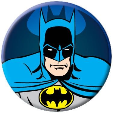 Batman Classic Original Costume Button ()