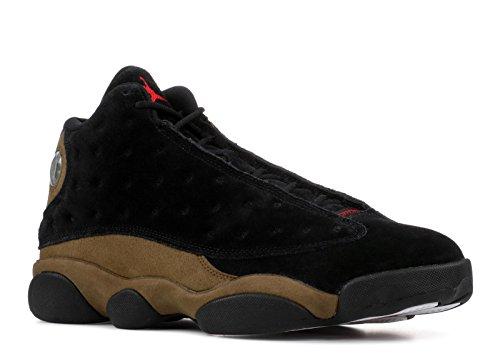 Nike AIR Jordan 13 Retro 'Olive' - 414571-006 -