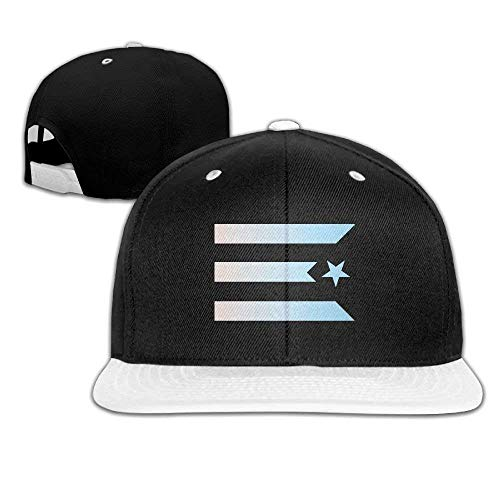 Youth Thin Blue Line American Flag Baseball Kappe Hip Hop Flat Hat - Adjustable Hat Game -