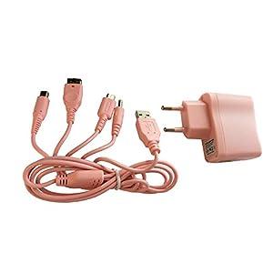 OSTENT 4 in 1 Mehrere USB-Ladekabel für Nintendo NDSi / NDSL / NDS / GBA SP / PSP-Konsole