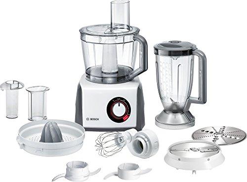 Bosch MCM62020 Robot da Cucina Compatto, Bianco/Grigio