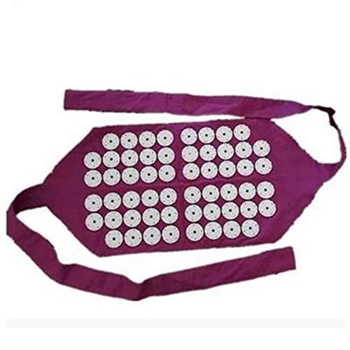 Xinfang Akupunktur-Massage-Gürtel, Yoga-Massage-Gürtel, Akupressur-Gürtel, Geeignet Für Die Fortschrittliche Tragbare Moxibustion-Box-Moxibustion-Behandlung Zur Linderung Von Rückenschmerzen(Round)