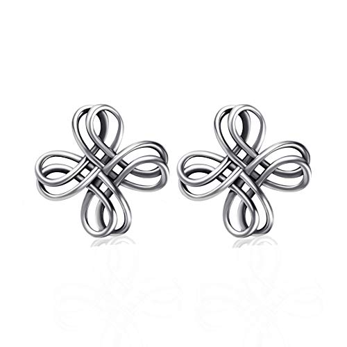 Ohrringe Damen YFN 925 Sterling Silber Blume
