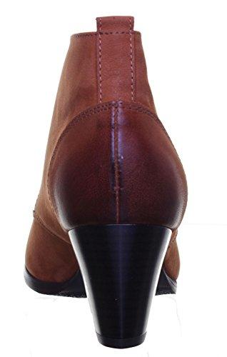 Reece Justin pour femme taille à lacets en chaussures à talon Beige - Brun