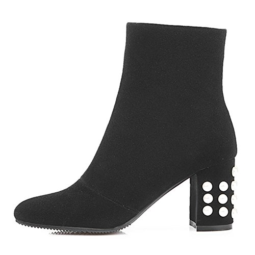 Nine Seven Bottines - Stivali Donna Noir