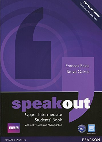 Speakout Upper Intermediate Students' Book with DVD/active Book and MyLab Pack by Mr Steve Oakes (2012-02-09)