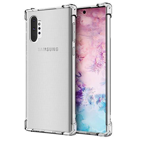 Cubevit Samsung Galaxy Note 10 Plus/Pro Hülle, [Lebenslange Ersatzgarantie] [Crystal Clear] Case Cover, Ultra Dünn Premium Soft TPU Schutzhülle, Silikon Handyhülle für Galaxy Note 10 Plus/Note 10+