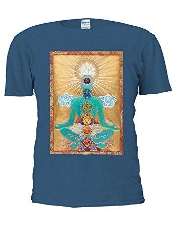 Buddha Budha Buddhism Cool Estetic Novelty Forest Men Women Unisex Top T Shirt-XXL