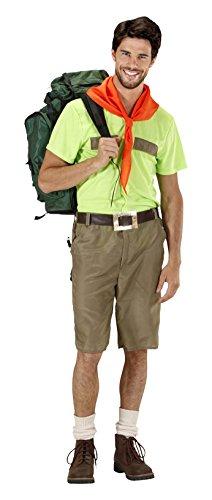 Scout Uniform Shirt (Widmann 2027-Boy Scout, Farben sortiert, Größe M)